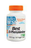 Best D-Phenylalanine 500 mg, 60 Caps, Doctor's Best