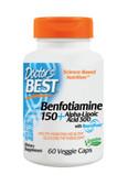 Buy Best Benfotiamine 150 + Alpha-Lipoic Acid 300 60 Veggie Caps Doctor's Best Online, UK Delivery, Benfotiamine Vitamin B