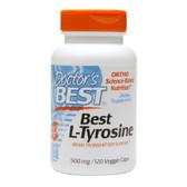 Buy Best L-Tyrosine 500 mg 120 Veggie Caps Doctor's Best Online, UK Delivery, Amino Acid