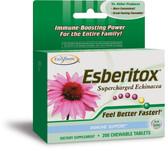 Esberitox Supercharged Echinacea 200 Tabs Enzymatic, Immune