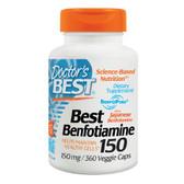 Buy Best Benfotiamine 150 150 mg 360 Veggie Caps Doctor's Best Online, UK Delivery, Benfotiamine Vitamin B