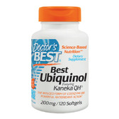 Buy Best Ubiquinol Featuring Kaneka QH 200 mg 120 sGels Doctor's Best Online, UK Delivery, Antioxidant Ubiquinol CoQ10