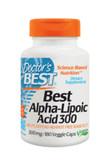 Buy Best Alpha-Lipoic Acid 300 300 mg 180 Veggie Caps Doctor's Best Online, UK Delivery, Antioxidant ALA