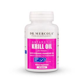 Buy Premium Supplements Antarctic Krill Oil for Women 90 Caps Dr. Mercola Online, UK Delivery, EFA Omega EPA DHA