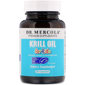 Buy Premium Supplements Kids' Krill Oil 60 Caps Dr. Mercola Online, UK Delivery, EFA Omega EPA DHA
