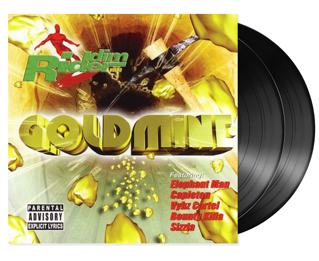 Goldmine - Riddim Rider Vol 10 - Various Artists (LP)