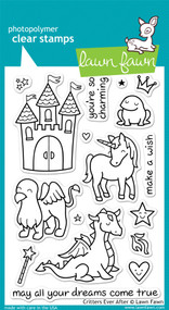 Lawn Fawn Critters Ever After Stamps