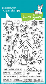 Lawn Fawn Frosty Fairy Friends Stamps