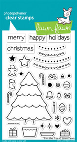 Lawn Fawn Trim the Tree Stamps