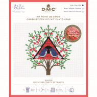 DMC Bird House Counted Cross Stitch kit