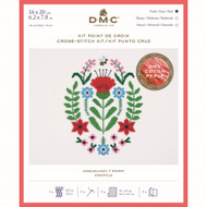 DMC Poppy Counted Cross Stitch kit