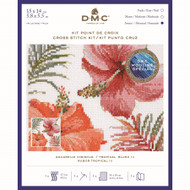 DMC Tropical Blush III Counted Cross Stitch kit