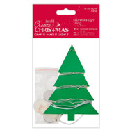 Papermania Create Christmas - 20 LED White Light String by DoCrafts