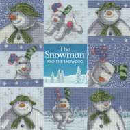 DMC The Snowman and The Snowdog Counted Cross Stitch Kits- Choose from 8 Designs