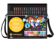 Chameleon Color Tones Alcohol Blending Gradient Pens - 30 Pen Deluxe Set