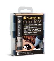 Chameleon Color Tops 5 Pen Set Alcohol Blending Gradient - Skin Colour Tones