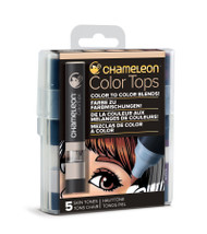 Chameleon Color Tops 5 Pen Set Alcohol Blending Gradient - Skin Colour Tones