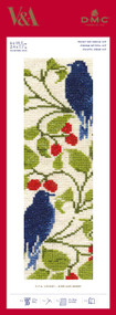 DMC Counted Cross Stitch Bookmark Kit - V&A Museum William Morris & Co Voysey