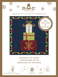 DMC Festive Christmas Mini Counted Cross Stitch Kit - Christmas Gifts