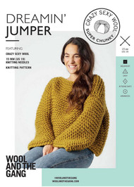 WATG Crazy Sexy Wool Pattern - Dreamin' Jumper