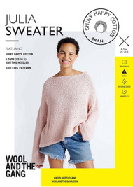 WATG Crazy Sexy Wool Pattern - Julia Sweater