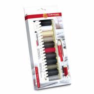 Gutermann Sewing Kit. 11 Reels of Sew-all Thread 1 Measuring Gauge & 1 Seam-Fix