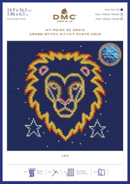 DMC Signs of the Zodiac Counted Cross Stitch Kit - Leo