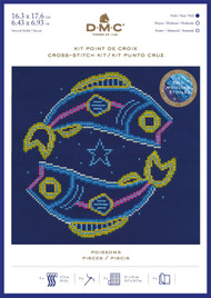 DMC Signs of the Zodiac Counted Cross Stitch Kit - Pisces