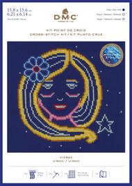 DMC Signs of the Zodiac Counted Cross Stitch Kit - Virgo
