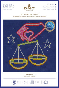 DMC Signs of the Zodiac Counted Cross Stitch Kit - Libra