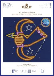 DMC Signs of the Zodiac Counted Cross Stitch Kit - Sagittarius