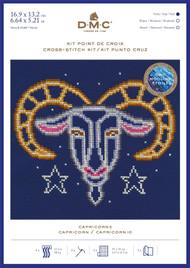 DMC Signs of the Zodiac Counted Cross Stitch Kit - Capricorn