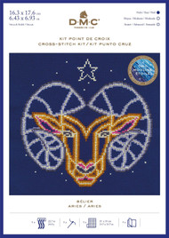 DMC Signs of the Zodiac Counted Cross Stitch Kit - Aries