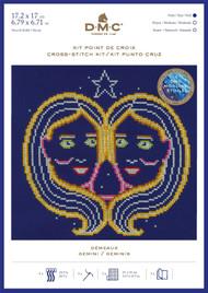 DMC Signs of the Zodiac Counted Cross Stitch Kit - Gemini