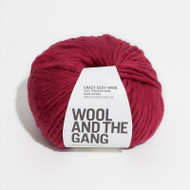 WATG Wool And the Gang Crazy Sexy Wool 200g 80m 87yd - True Blood Red