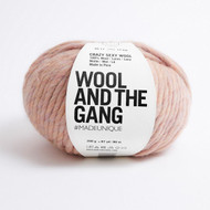 WATG Wool And the Gang Crazy Sexy Wool 200g 80m 87yd - Mineral Pink