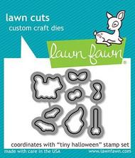 Lawn Fawn Tiny Halloween Lawn Cuts Custom Craft Dies