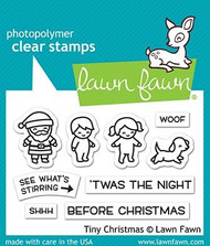 Lawn Fawn Tiny Christmas 2X3 Clear Stamp