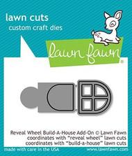 Lawn Fawn Reveal Wheel Build-A-House Add-On Custom Craft Dies