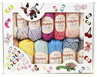 Sirdar Happy Chenille Happy Box - 25 Happy Chenille Colours in a Happy Box
