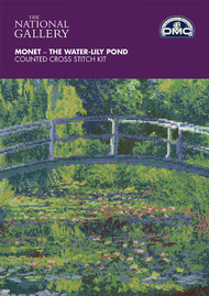 DMC - The National Gallery Monet -The Water-Lily Pond - Counted Cross Stitch Kit