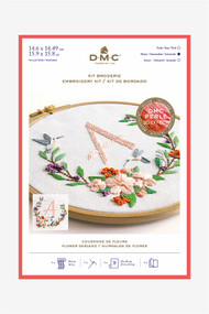 DMC Embroidery Kit - Flower Garland