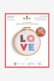 DMC Embroidery Kit - Love