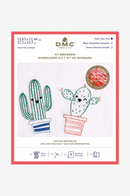 DMC Embroidery Kit - Smiling Cactus