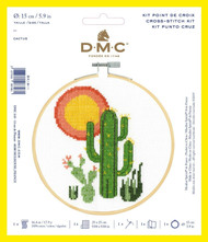 DMC Counted Cross Stitch Kit XS - Cactus