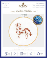 DMC Counted Cross Stitch Kit - Attentive Spaniel