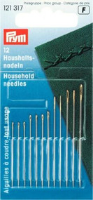 Prym Household Needles x 12 in 6 Different Sizes