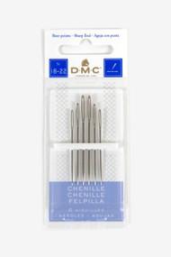 DMC Chenille Hand Needles - Size 18-22