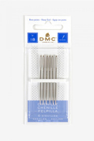 DMC Chenille Hand Needles - Size 18