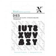 Xcut Mini Die - Uppercase Capital Alphabet S - Z, ! &